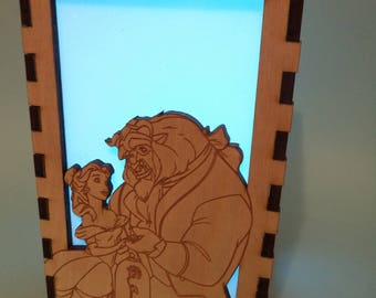 Beauty & the Beast Color Changing Luminary