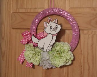 Marie from the Aristocats Spring wreath