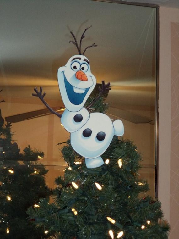 Olaf Christmas Trees.13 Inch Tall Olaf Christmas Tree Topper