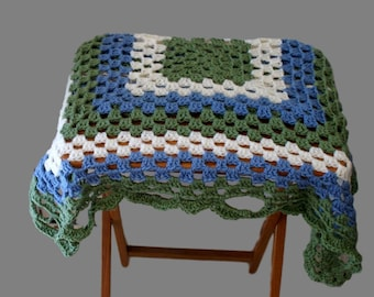 Blue Blanket, Sage Green Blanket, Blue Baby Afghan, Baby Blanket Boy, Crochet Baby Blanket, Baby Blanket, Crib Afghan, Afghan Blanket
