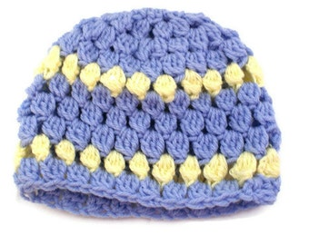 Purple baby girl hat, Crochet Baby Cloche, Baby Sock Cap, Purple Baby Beanie, Purple Winter Hat, Infant Snow Hat, Crochet Cloche, Chil