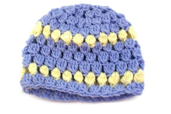 Purple baby girl hat Crochet Baby Cloche Baby Sock Cap  41e694a43f1