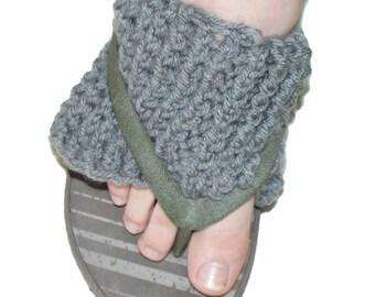 Flip Flop Socks, Yoga Socks, Pilates Socks, Dance Socks, Exercise Socks, Footwear, Pedicure Socks, Heel-less Toe-less Socks, Spa Socks,