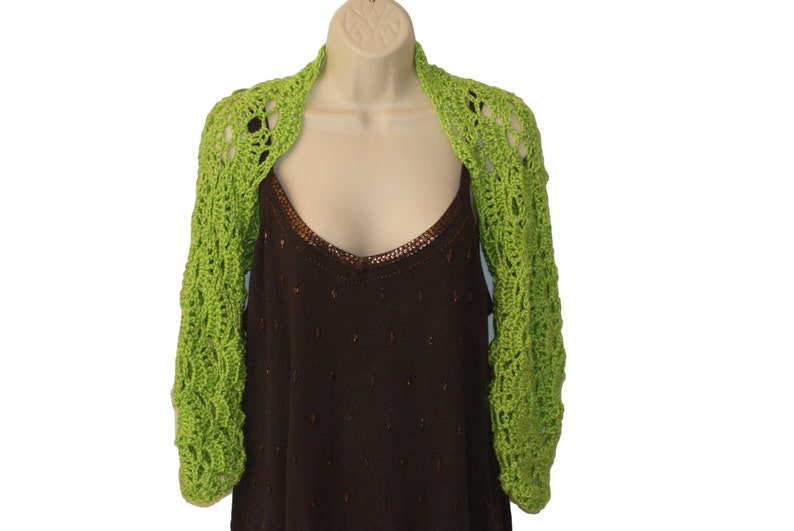 00b180417bc Green Shrug Womens Plus Size Lime Green Clothing Plus Size