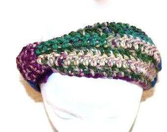 Turban Headband, Yoga Headband, Fashion Hairband, Womens Crochet Headband, Crochet Ear Warmers, Ski Headband, Winter Headband, Knot He
