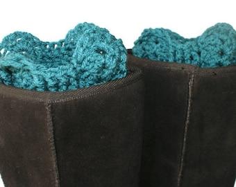 Womens Boot Cuffs, Crochet Boot Toppers, Womens Leg Cuffs, Winter Trend, Womens Boot Socks, Crochet Boot Cuffs, Plus Size Leggings,