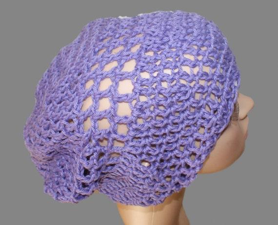 77c48b834e9 Hat Woman Slouchy Hat Purple Hat Summer Cloche Cotton