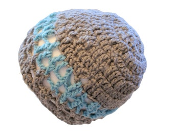 Womens Beanie, Slouchy Cap, Winter Hat, Gray Womens Hat, Snow Cloche, Womens Fashion Hat, Grey Cap, womens hat, Gray Crochet Beanie