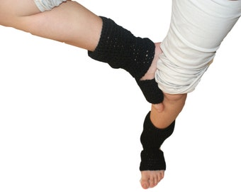Yoga Socks, Pilates Socks, Dance Socks, Exercise Socks, Pedicure Socks, Toe-less Socks, Flip Flop Socks,Black Yoga Socks, Piyo Socks
