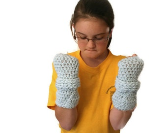 Crochet Mittens, Crochet Wristwarmers, Blue Winter Mittens, Gloves Texting, Blue Mittens, Fashion Gloves, Blue Wristwarmers, Gloves Wi