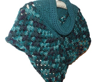 Toddler Poncho, Girls Poncho, Girls Capelet, Girls Cape, Cowl Neck Poncho, Girls Crochet Poncho, Poncho Kid, Poncho Teen, Teen Capelet