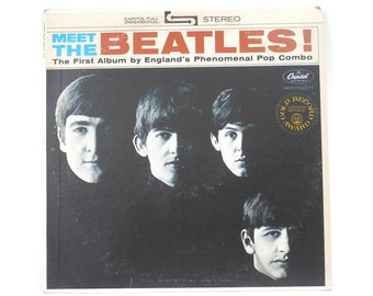 The Beatles Meet the Beatles Capitol Records ST 2047 from the 1960's