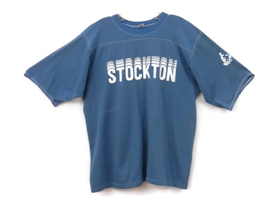 Vintage University Stockton Tee Tee South Shirts 1970's Shirt Jersey College 5Uq5rwd
