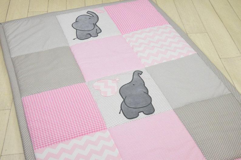 Rosa Baby Teppich Mädchen Spielmatte Aktivität Matte Baby | Etsy