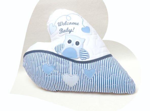 Love Pillow Designer Pillow Baby Pillow Owl Pillow Baby Shower