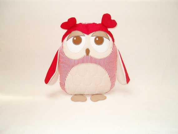 Owl Pillowcase and Pillow