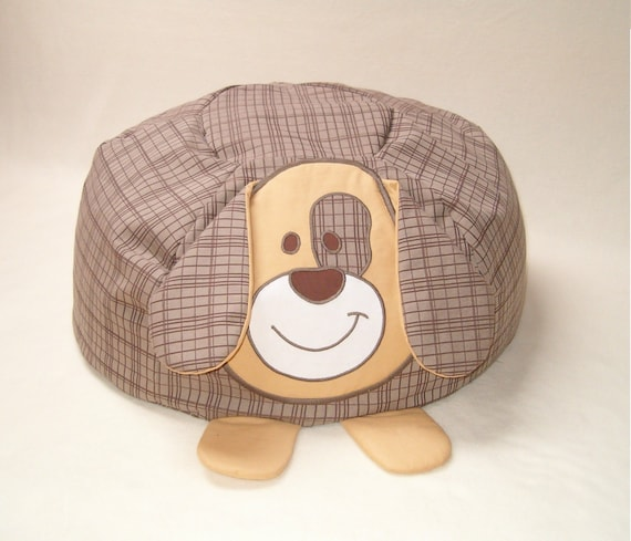 Child Bean Bag, Dog  Beanbag - Baby Shower Gift - HET-