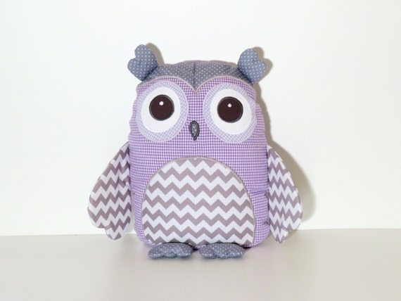 Owl Pillow Toy Baby Boy Shower New Mom Newborn Monogram Birthday Gift Halloween Baby Costume