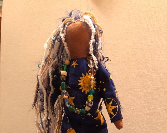 Native American Made Cloth Doll