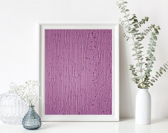 Minimalist Purple Rain Fine Art Photography Print Printable Instant Digital Download