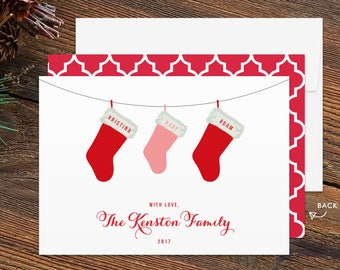 stockings baby announcement holiday card christmas baby announcement baby announcement christmas card pregnancy announcement card