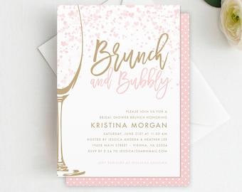 dfa233ded218 Brunch   Bubbly Bridal Shower Invitation - Bridal Shower Brunch