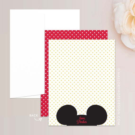 Mickey Mouse 3rd Birthday Invitation
