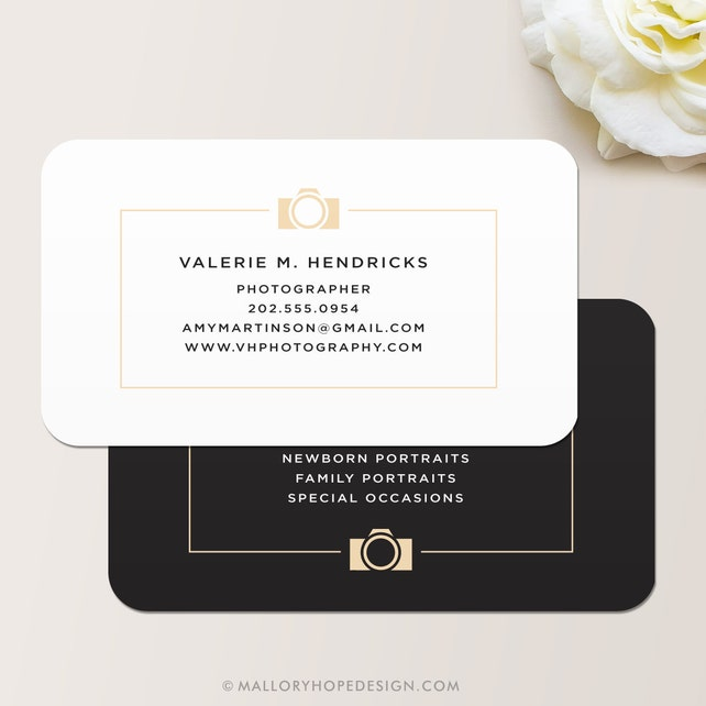 Photographer Business Card Calling Card Mommy Card Contact