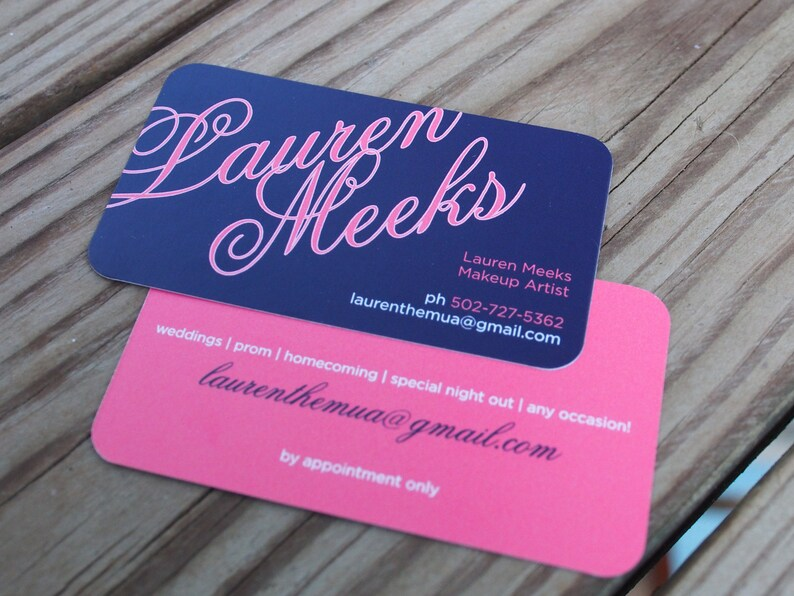 elegant name business card calling card mommy card contact