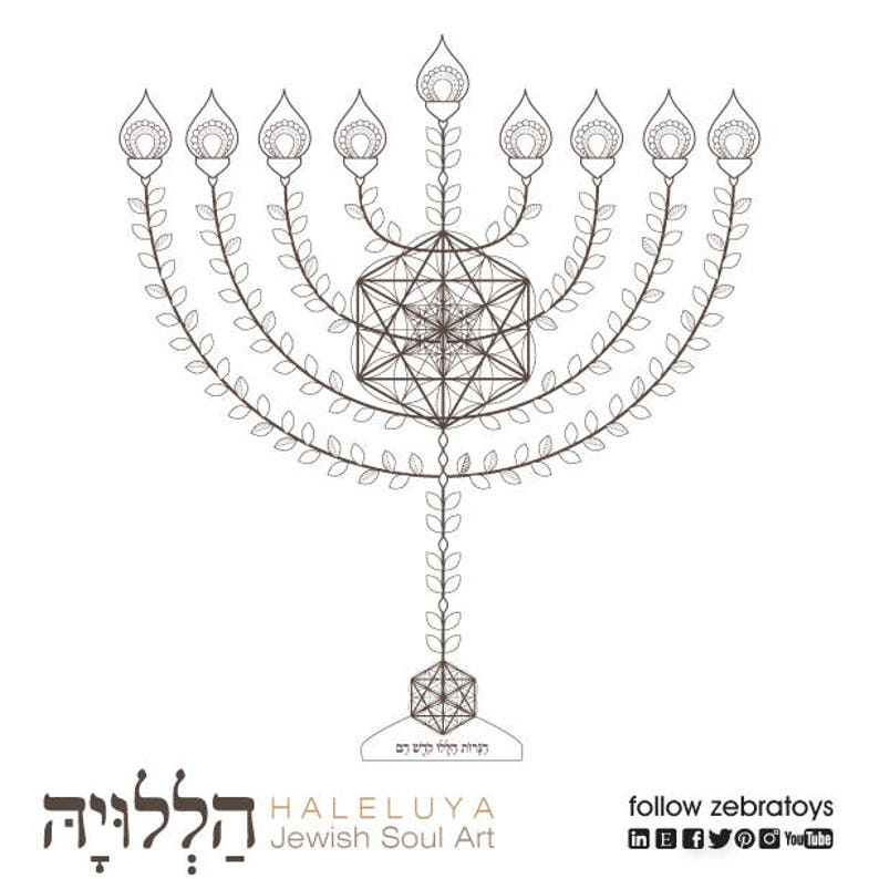 image about Menorah Printable referred to as Hanukkah Menorah Printable-Hanukiah-Jewish Artwork-Hanukkah Prayer blessing-Competition of Lighting-Coloring Web site-Chanukiah for Sale-Fast Obtain