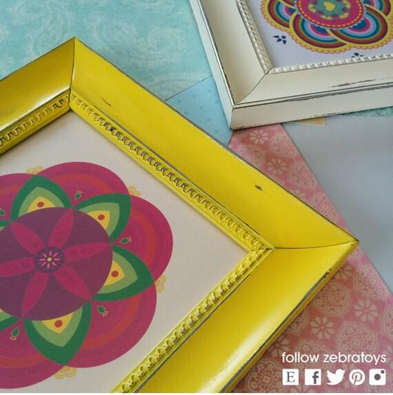 Pink Bohemian Mandala-Printable Wall Art-Hippi Digital