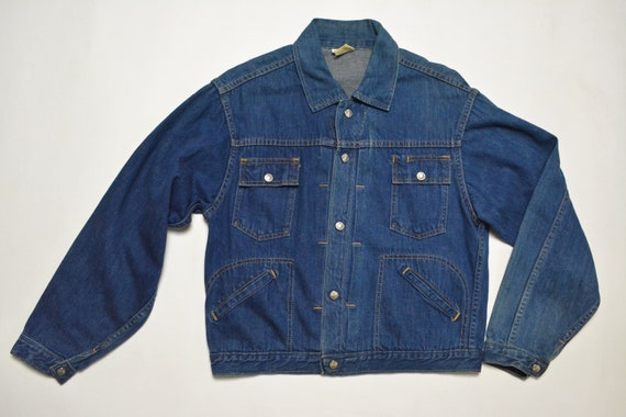 Vintage 1950s 1960s Denim Jacket Ranchcraft JC Pen