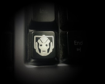 Doctor Who inspired - Cyberman Micro Decal