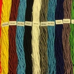 Opaque Seed Beads Size 11 Hanks Lots of Colors