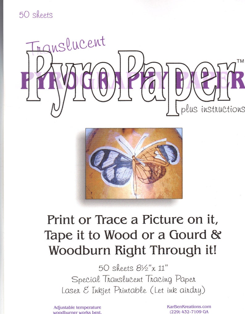 Pyropaper for Woodburning image 0