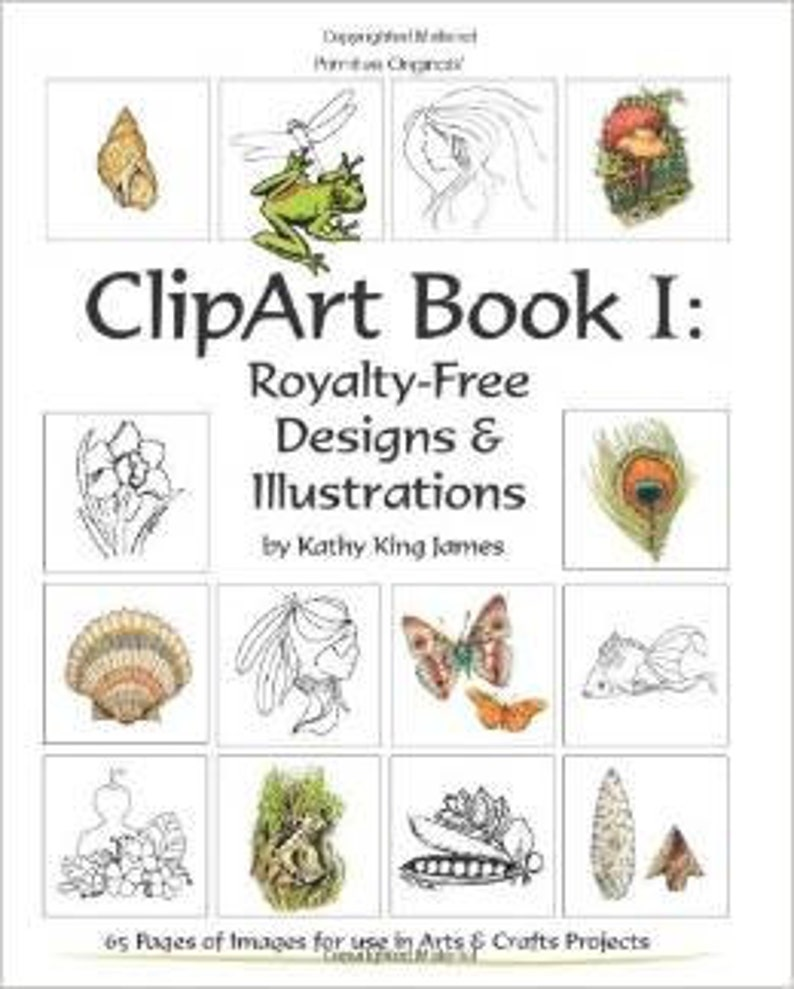 ClipArt Book 1 Royalty-Free designs & Illustrations by Artist image 0