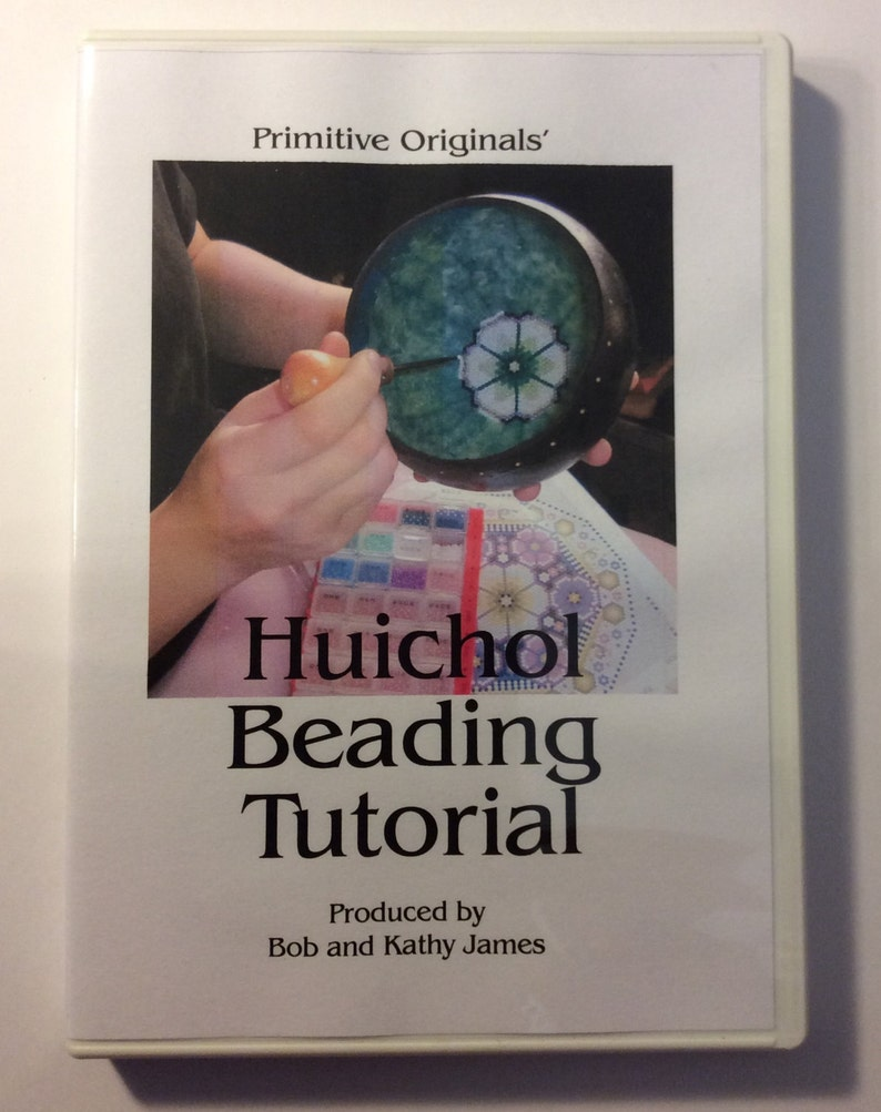Huichol Beading Tutorial DVD  NEW ITEM image 0