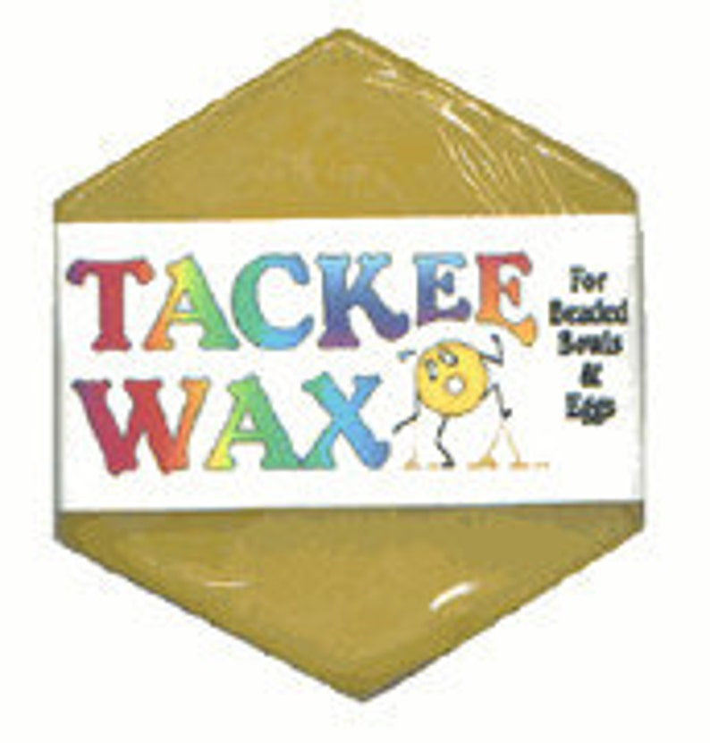 Tackee Wax for Huichol beading image 0