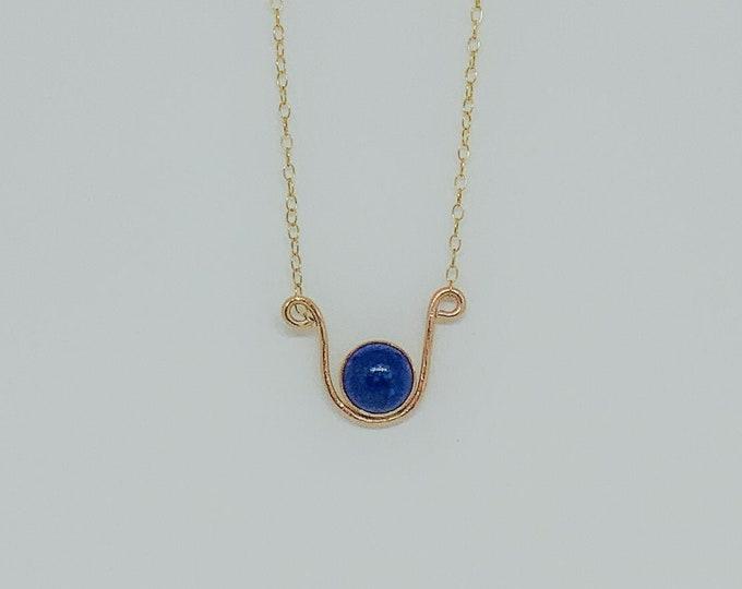 Featured listing image: Lapis Lazuli Vessel Pendant