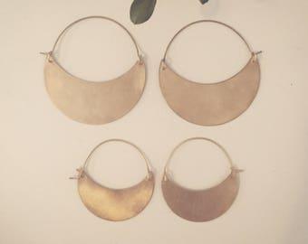 Waxing Crescent Earrings