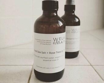 Dead Sea Salt + Essential Oil Tressing Tonic