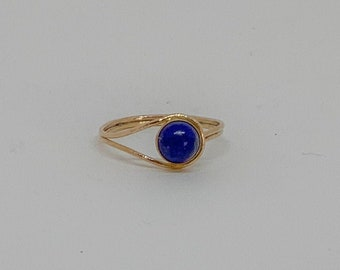 Lapis Lazuli Optic Ring