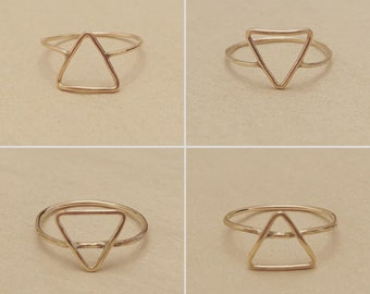 As Above So Below Rings - Gold