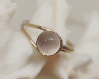 Moonstone Optic Ring