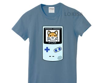 Video Game Power Shiba T-Shirt