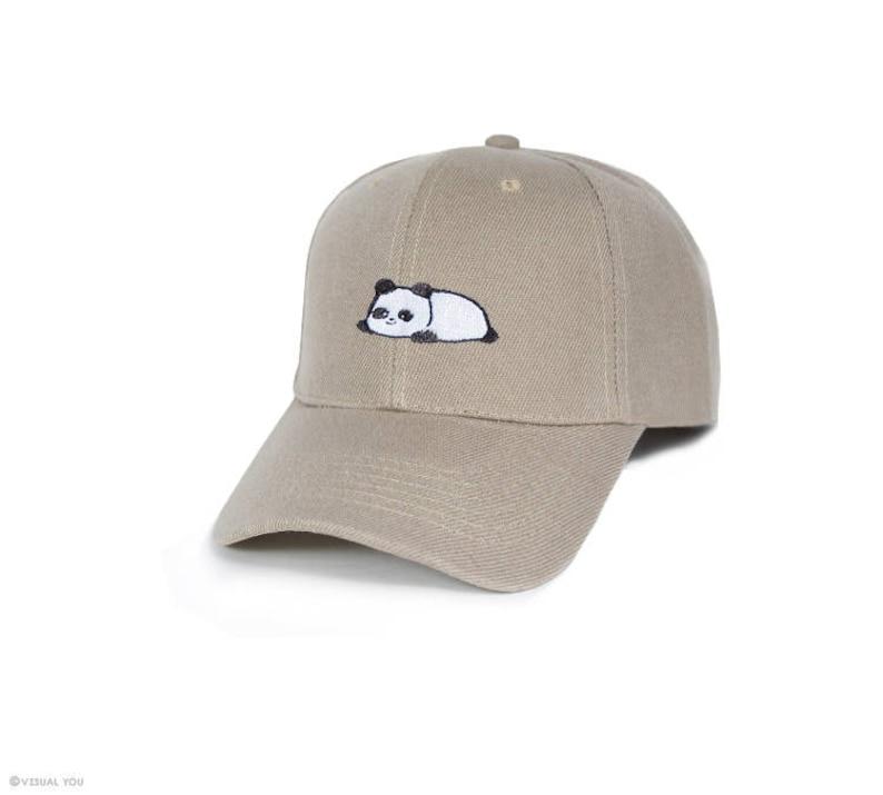 df23433faecf8 Relaxing Panda Baseball Cap