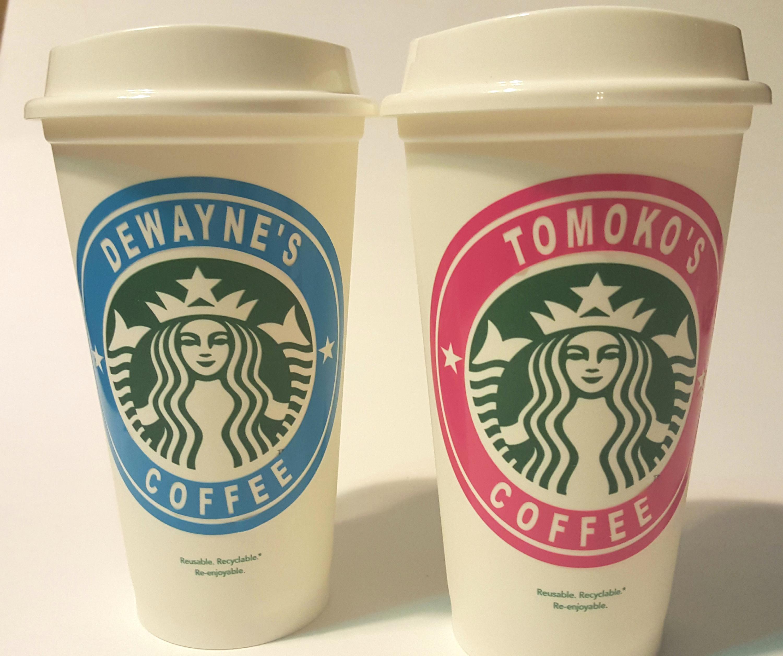 Personalized Starbucks 16oz Cup Custom Starbucks Cup Reusable Starbucks Cup Custom Starbucks Cup Gift