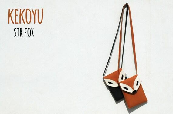 2cf67692f67d1 Umhängetasche Mr.Fox Fuchs Schultertasche crossbody bag Tasche
