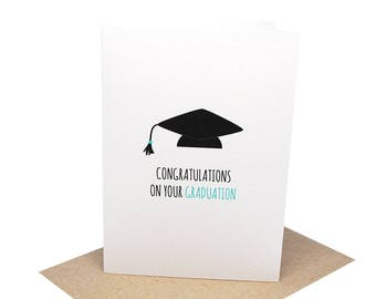 graduation greeting card congratulations on your graduation graduation cap handmade graduation card cards for graduation grd010