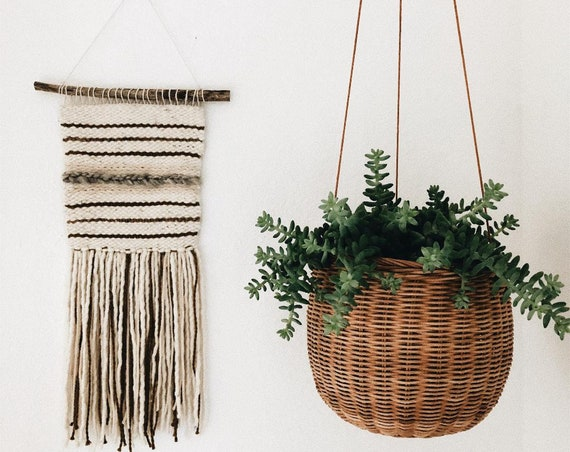 Olive & Gray Wall Hanging